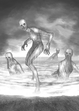 怪異:碧の海